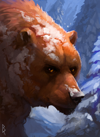Commission: bear by Brevis--art