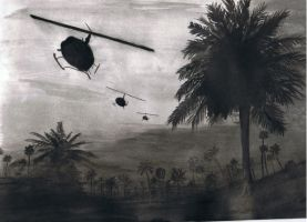 Vietnam Choppers by pookey2