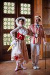 Mary Poppins and Bert by LadyGiselle