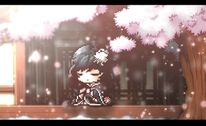 ll Cherry Blossoms. by iAuliffy