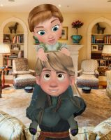 Anna and Kristoff by Simmeh