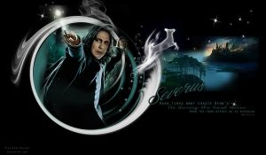 PROF.SEVERUS SNAPE'S PATRONAS, THE DOE by Vee-Deviant