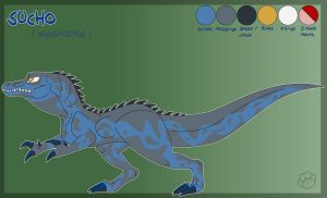 Sucho the Suchomimus - Reference by Marcella-Youko