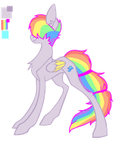 Dimmer color ref and bio by Fluffomaru