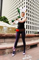 Bunny Riven-LoL by LuciaItaliana