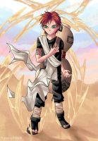 Gaara of the sannnnds by powerswithin