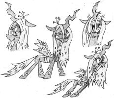 Chrysalis Sketches by NocturnalMeteor