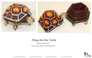 Mikey The Box Turtle by CalaelAzasar