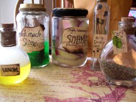 Potter Potions by lil-utena