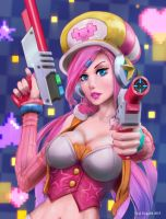 Arcade Miss Fortune by EyalDegabli