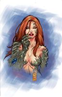 Marc's Witchblade by strngbroda