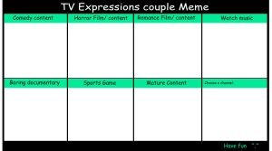 TV expression   Meme by Fayerin