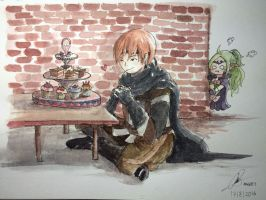 I Flirt with Sweets by Enevii