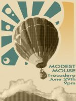 Modest Mouse Poster by art4answer
