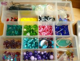my beads world by dragonflyme