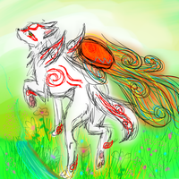 Okami by Cappygal