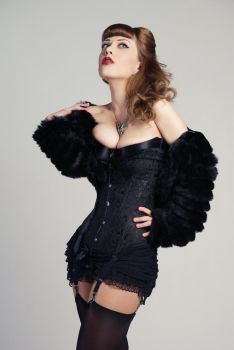 Tanit-Isis Gothic Burlesque Stock by tanit-isis-stock