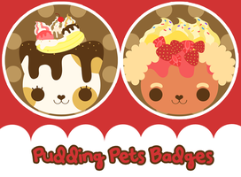Pudding Pets by Butterscones
