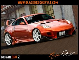 Nissan 350z by mavradesign
