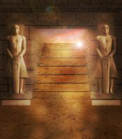 Ancient Egyptian Tomb by mai994