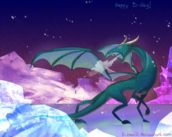 Happy b-day Dragon by fi-chan2