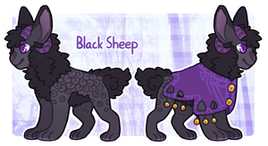 Avilope Advent 2014 - Day 3 - Black Sheep by Dogquest