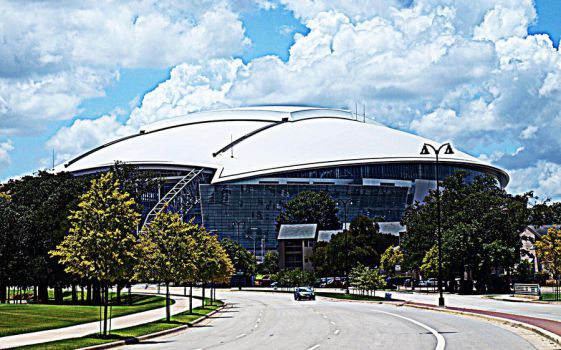 Cowboys Stadium HDR by yume-ninja
