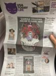 Sabrina announcment in USA TODAY by RobertHack