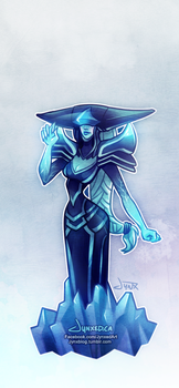 Lissandra | League of Legends by Jynxed-Art
