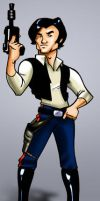 Han Solo by WarBrown