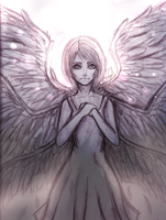 Angel of Kindness by AshiotoPiko