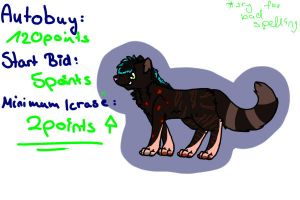 Wolf Auction 1 by x-Blacky-x