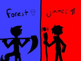 heroes: james and forest by j6k0aj