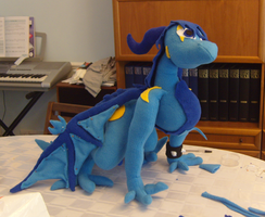 Sky plushie WIP 2 by Dark-Dragon-Spirit