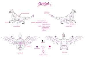 Gretel Reference Sheet 2014 by TheDragonInTheCenter