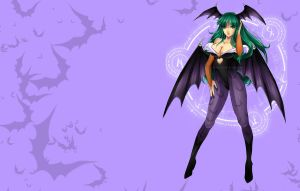 Morrigan Wallpaper by AlcoholicRattleSnake