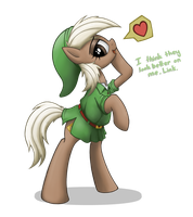 Epona in Hero's Clothes by anearbyanimal