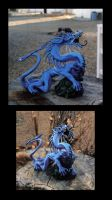 OLD dragon sculpt from around 2001 by Meadowknight