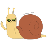 Litch Snail Vector by Mysterious-Master-X