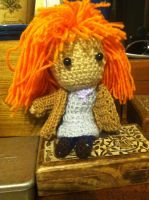 Donna Noble amigurumi by monstermelissa