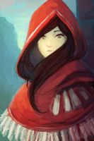 Hooded Girl by cubehero
