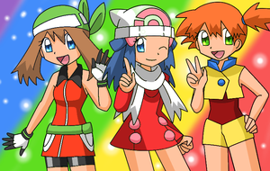 Misty, Dawn and May by Endless-Rainfall