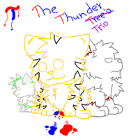The Thunder Trio by Thunderjix