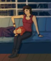 If tomorrow never comes .Bechloe by sexyfairy