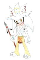 Creature of the Forest: Silver the Hedgehog by GothNebula