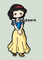 Disney Princess: Snow White by NickyToons