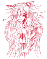 Chershire Cat Grell 01 by choxie-chan