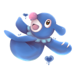 Popplio by Painted-Heart