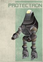 Fallout 3 Protectron by 4MindZapper