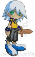 KH - Childhood Riku Chibi by TheQueenofKawaii